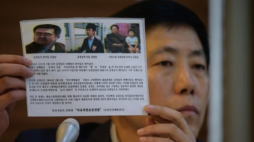 North Korea defector group chairman Park Sang-hak said North Koreans have a right to know the truth