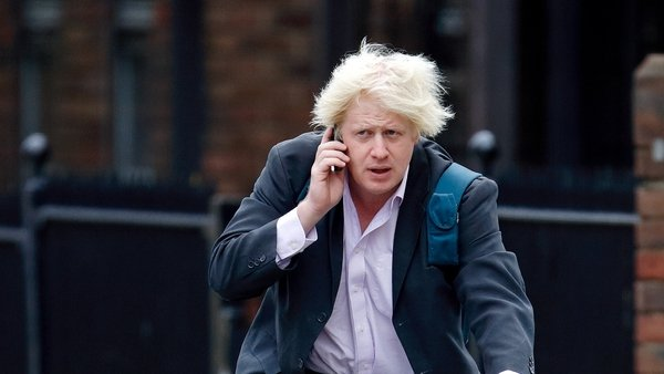 Boris on the phone