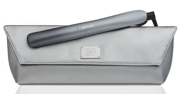 GHD Gold Hair Straightener in Ombre Chrome