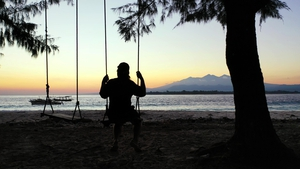 The clip sparked outrage in Bali