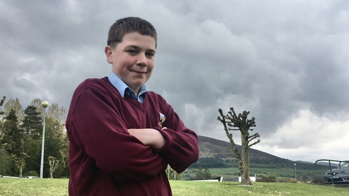 Brian Philpott is keen to spread the measage of farm safety among other young farmers