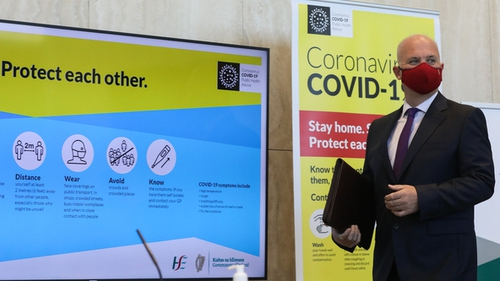 The Dept of Health reported the total confirmed coronavirus cases now number 249,437 (Pic: RollingNews.ie)