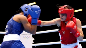 Katie Taylor and Natasha Jonas get ready to do it again