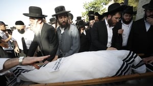 With families anxious to bury loved ones before the Shabbat break, funerals were held in Jerusalem and the mainly ultra-Orthodox city of Bnei Brak