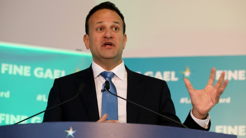 Leo Varadkar said Fine Gael should establish a branch in Northern Ireland