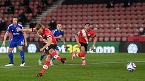 James Ward-Prowse scores from the penalty spot