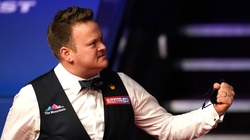 Shaun Murphy is back in the game