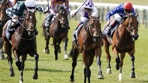 Poetic Flare will bid to give veteran trainer Jim Bolger a first win in the Poule d'Essai des Poulains on Sunday