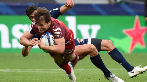 Antoine Dupont's late try sealed the result