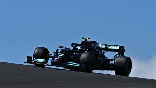 Valtteri Bottas took pole position in Portugal.