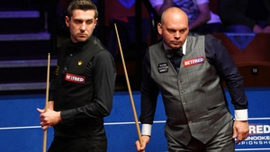 Selby and Bingham must come back tonight to finish their semi-final.