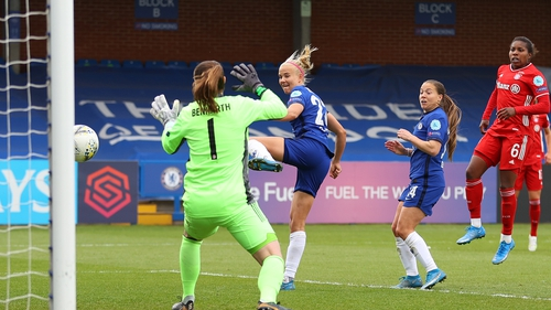Pernille Harder was among the goals for Chelsea