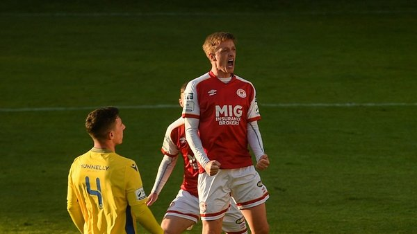 Chris Forrester has helped St Patrick's Athletic to the top of the table