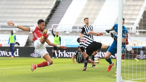 Pierre-Emerick Aubameyang goaled in the second half