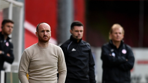 Stephen O'Donnell brings his St Patrick's Athletic team to Sligo, managed by former Saints boss Liam Buckley