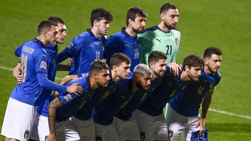 Italy face Turkey at Rome's Stadio Olimpico on 11 June
