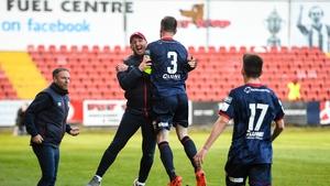 Ian Bermingham secured the Saints a point in Sligo