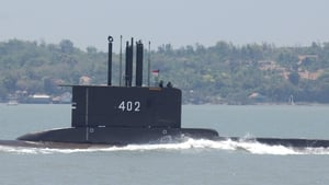 The KRI Nanggala 402 disappeared last month