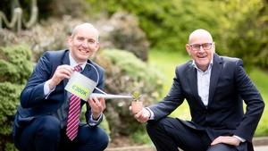 Intertrade Ireland's Shane O'Hanlon and Connor Sweeney