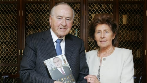 Kathleen Reynolds often travelled with her husband on international duties while he was taoiseach