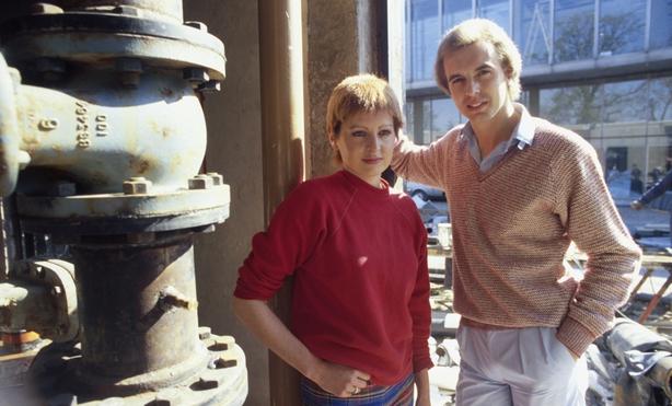 Carolyn Fisher and Dave Heffernan. (1981)