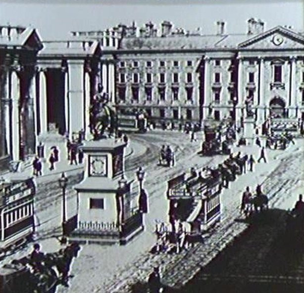 Lawrence Collection : College Green, Dublin
