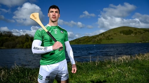 Sean Finn pictured at Lough Gur ahead of this weekend's start of the Allianz Hurling League