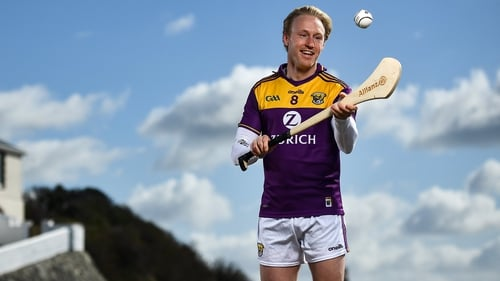 Diarmuid O'Keeffe pictured at Kilmore Quay ahead of this week's first round of Allianz Hurling League fixtures