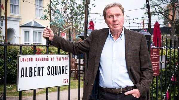 Harry Redknapp will visit Albert Square during the European Championships