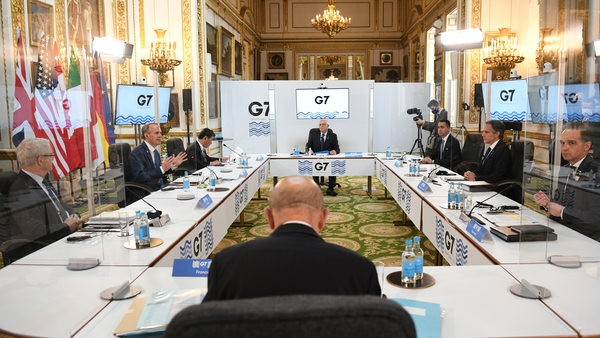 G7 foreign ministers are holding talks in London