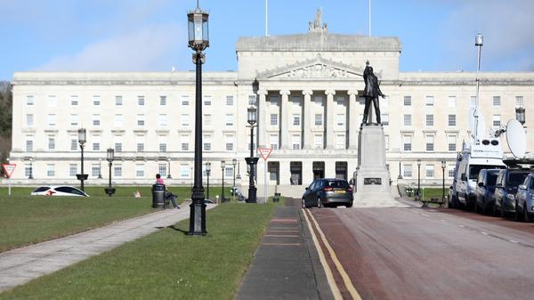 Sinn Féin has called on the British government to intervene in a row over Irish language legislation
