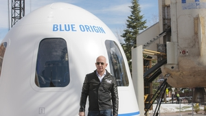 Jeff Bezos, the founder of Blue Origin