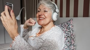 """""""Until recently, it was widely-assumed that smartphone tech represented an insurmountable barrier to social interaction for older people but that's not the case."""" Photo: Getty Images"""