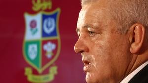 Warren Gatland will undertake his third Lions tour as head coach