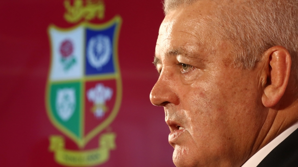 Warren Gatland will undertake his third Lions tour as head coach