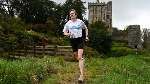 Aoife Cooke launching the 2021 KBC Virtual Dublin Marathon and Race Series