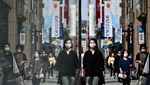 Japan, the world's third-largest economy, is expected to expand by an annualised 0.5% in the second quarter of 2021