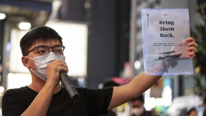 Activist Joshua Wong is already serving jail sentences linked to protests in 2019
