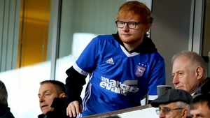 Ed Sheeran is the new Ipswich main sponsor