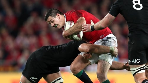 Sexton helped the Lions to a series draw against New Zealand in 2017