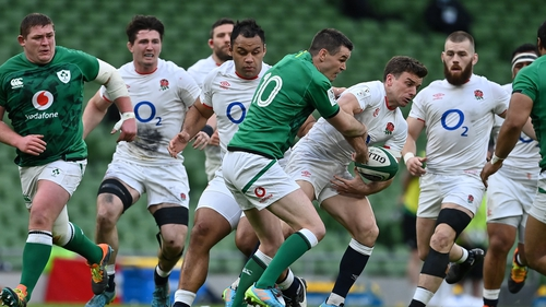 Ireland vs England was one of the games held behind closed doors this year, meaning a huge loss in income to the IRFU