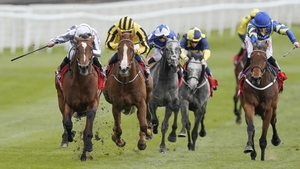 Japan (white and grey silks) ended a six-race losing streak at Chester