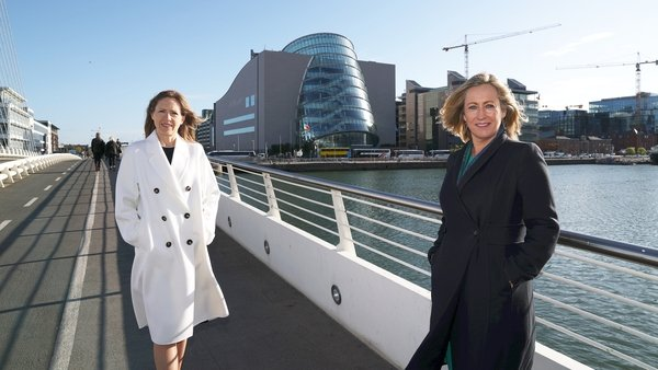 Marina Finn and Nicola McGrane, co-chairs of the Association of Irish Professional Conference Organisers
