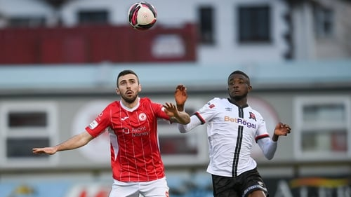 Junior could come up against his former club again after scoring for Dundalk last Monday versus Longford
