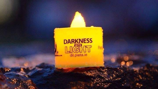 Preparations for tomorrow's Darkness Into Light walk