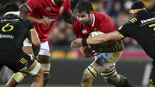 Iain Henderson was on tour with the Lions in New Zealand in 2017
