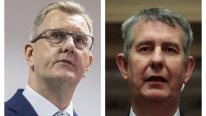 Jeffrey Donaldson (left) and Edwin Poots will both contest the DUP leadership
