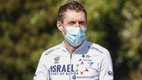 Martin is competing in his first Giro in seven years