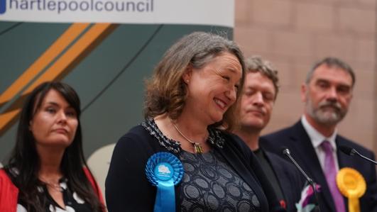 Major win for Boris Johnson's Conservatives in UK
