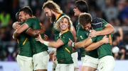 South Africa's World Cup success was build on a powerful forward pack and able replacements